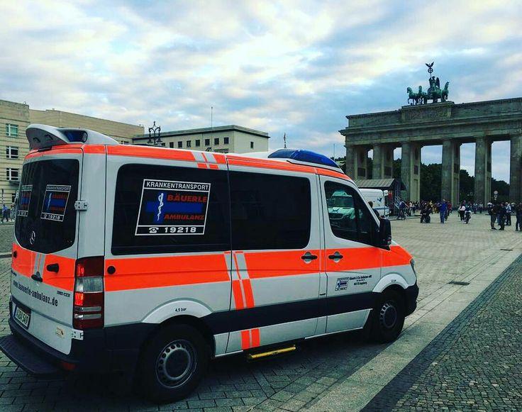 Fernfahrt nach Berlin mit Fotoshooting am Brandenburger Tor :)