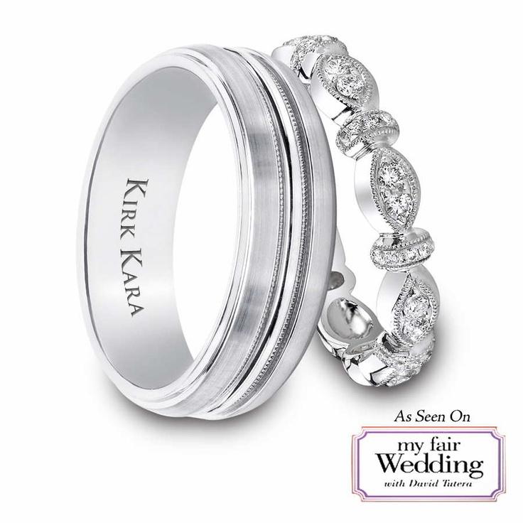 my fair wedding bands david tutera - David Tutera Wedding Rings