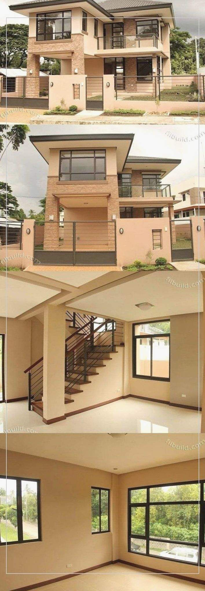 Pin On Architecture Philippines House Design Narrow House Designs Two Story House Design