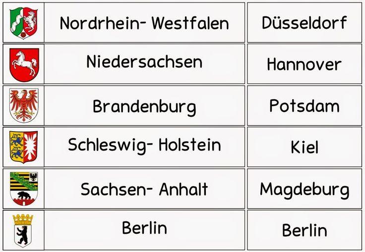 """Ideenreise: Legematerial """"Die Bundesländer"""""""