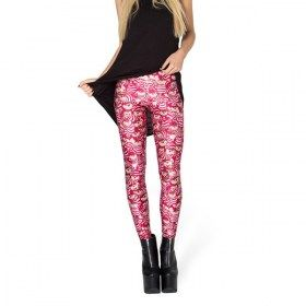 Pink Cheshire Cat Leggings