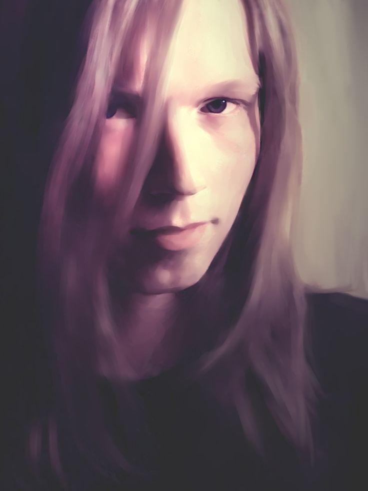 Portrait of my boyfriend