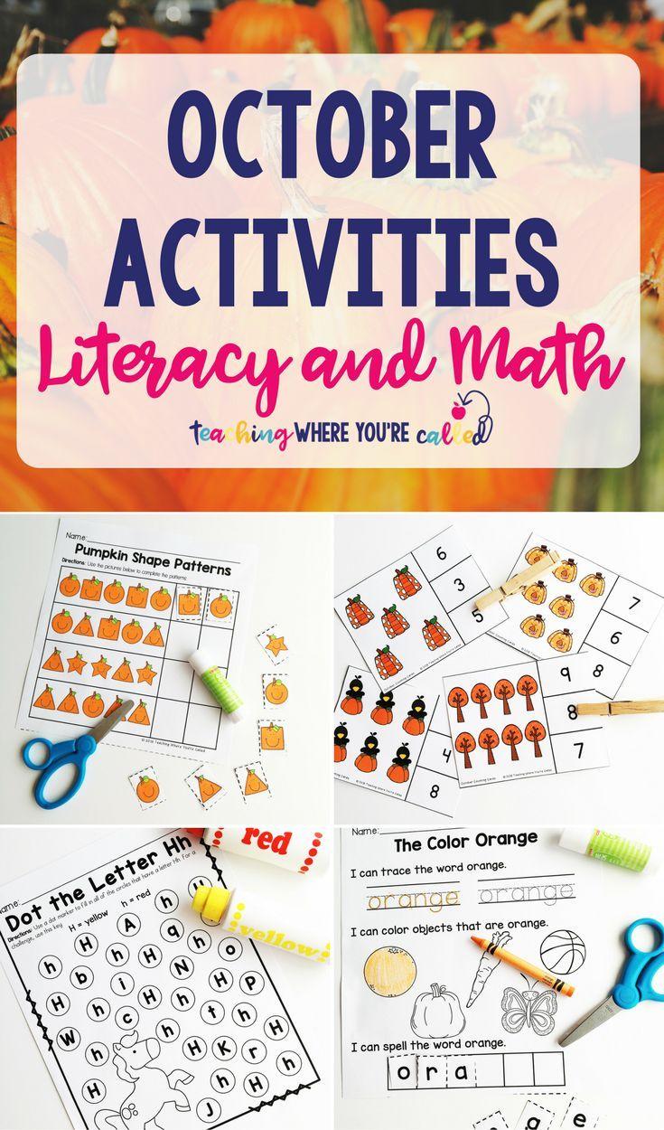 October Calendar Ideas For Preschool : Best all things teaching images on pinterest