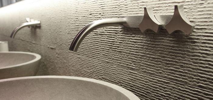 Cea Design Tapware, Neutra Wash basin (Project Featured: Pure Interiors Showroom. Sydney, Australia)