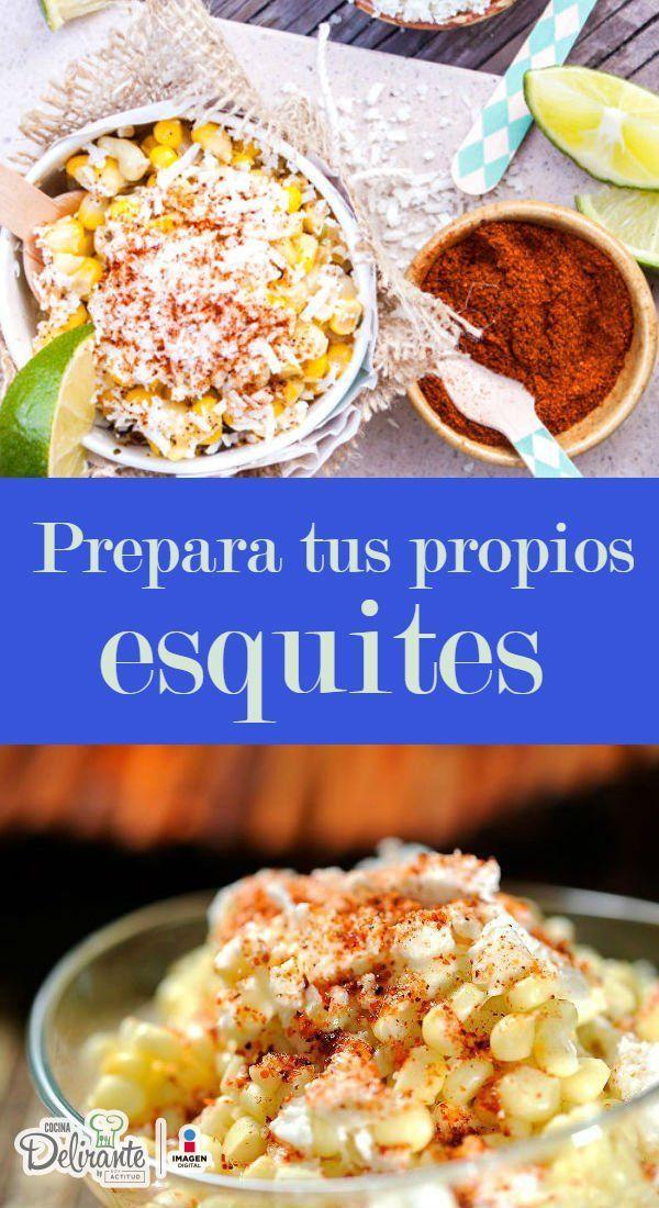 receta de esquites   CocinaDelirante
