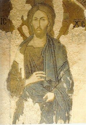 Christ of Chora Monastery, Constantinople, Greek Orthodox Icon