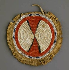 56 best images about arapaho quillwork on pinterest for What crafts did the blackfoot tribe make
