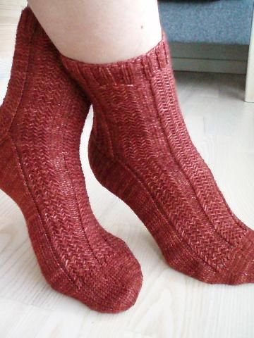 17 Best images about Knit Socks & Slippers on Pinterest ...