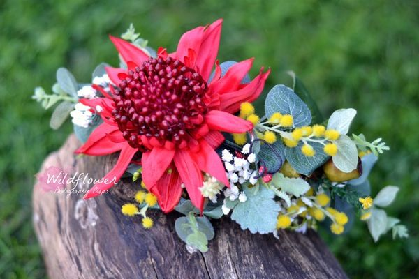 "Image of ""Waratah Crown"" OOAK"