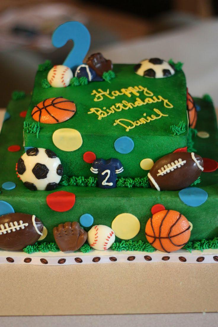 Kids Birthday Cake Ideas Sports 43823 All Sports Birthday