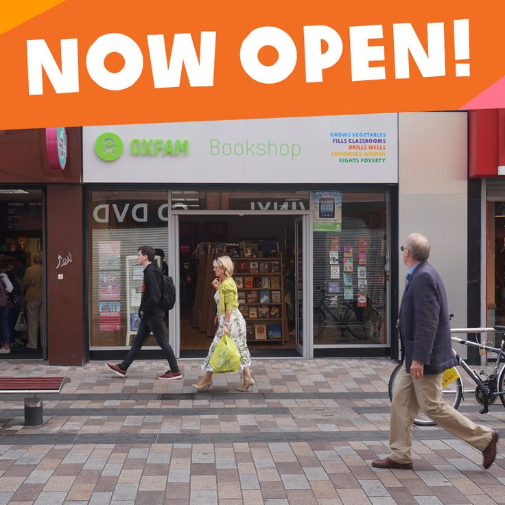 We are very excited to announce that our new Oxfam Books shop on 35 Ann St. in Belfast is now open! We'll be having an official launch with some special guests this Saturday so please do come along if you're in the area - we'd love to see you! Please SHARE this post to help spread the word.https://www.oxfamireland.org/shop/oxfam-books-ann-st