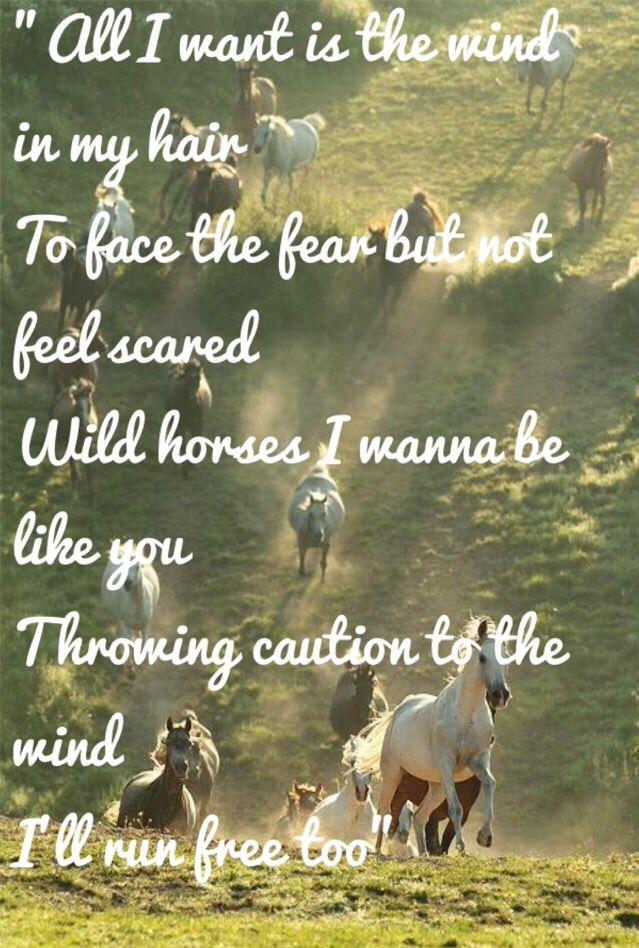 Wild Horses-Natasha Bedingfield