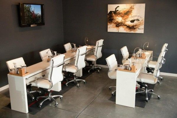 Desk Chair Set Up Oasis Nail Spa Remodel Pinterest Spa Pedicure And Desks