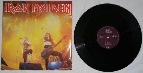 Iron Maiden - Running Free 1985 EP Vinyl Record Album EMI England/UK Import