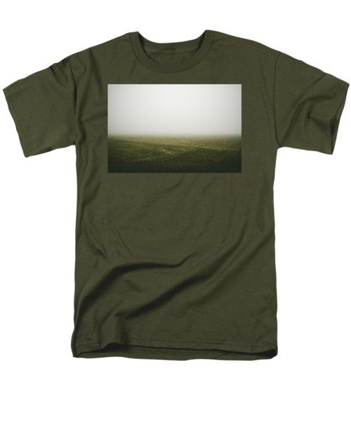 Foggy Autumn Morning T-Shirt by Cesare Bargiggia