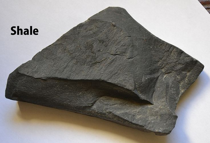 Shale is a fine-grained, clastic sedimentary rock composed ...