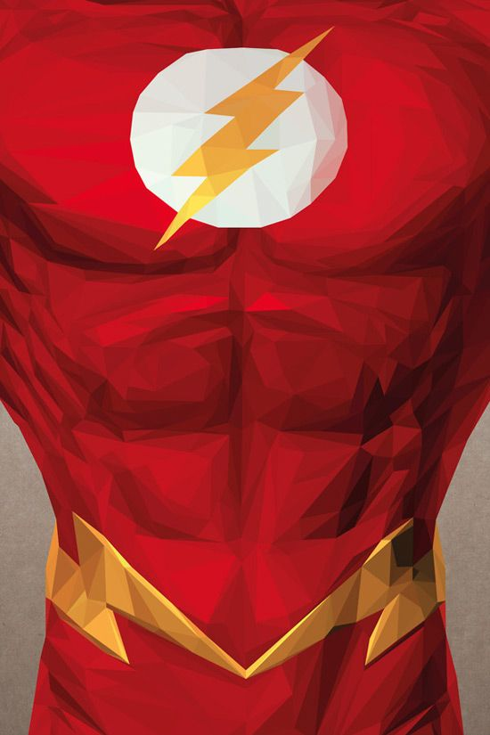 Flash - Triangle Heroes by Simon Delart | Inspiration Grid | Design Inspiration