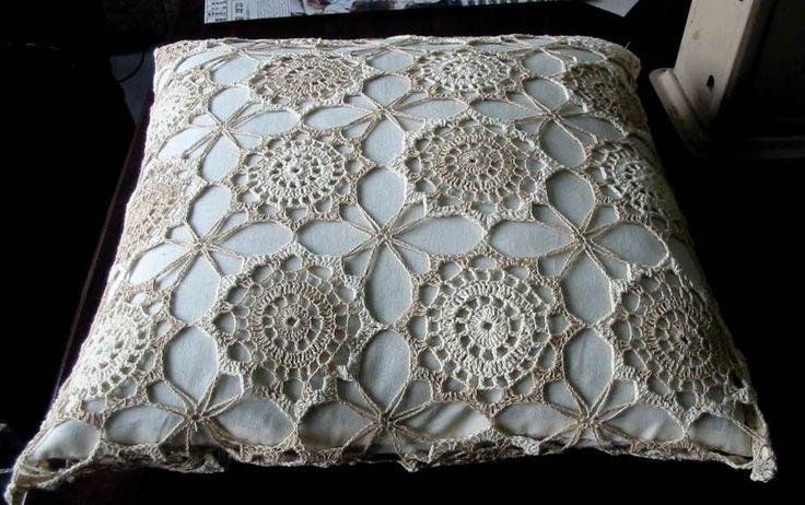 15 almofadas de crochê tradicionais ~ Arte De Fazer | Decoração e Artesanato