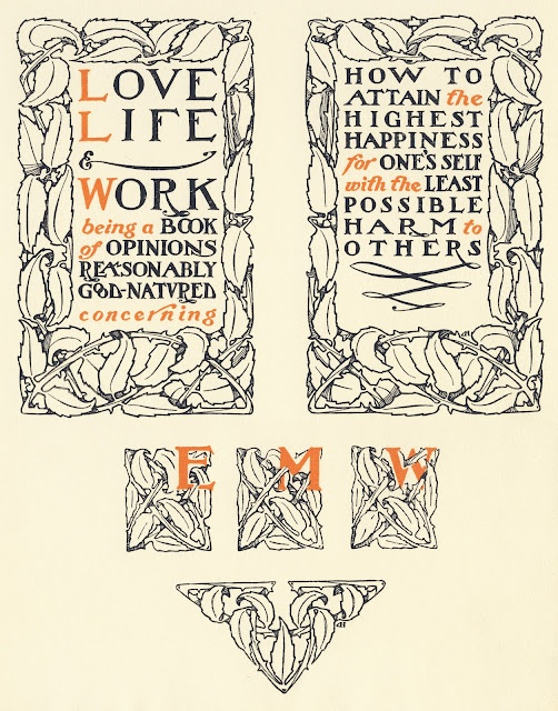 50 best arts crafts typography images on pinterest for Arts and crafts movement graphic design