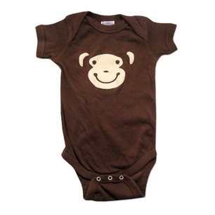 Lil' Monkey Onesie now featured on Fab.