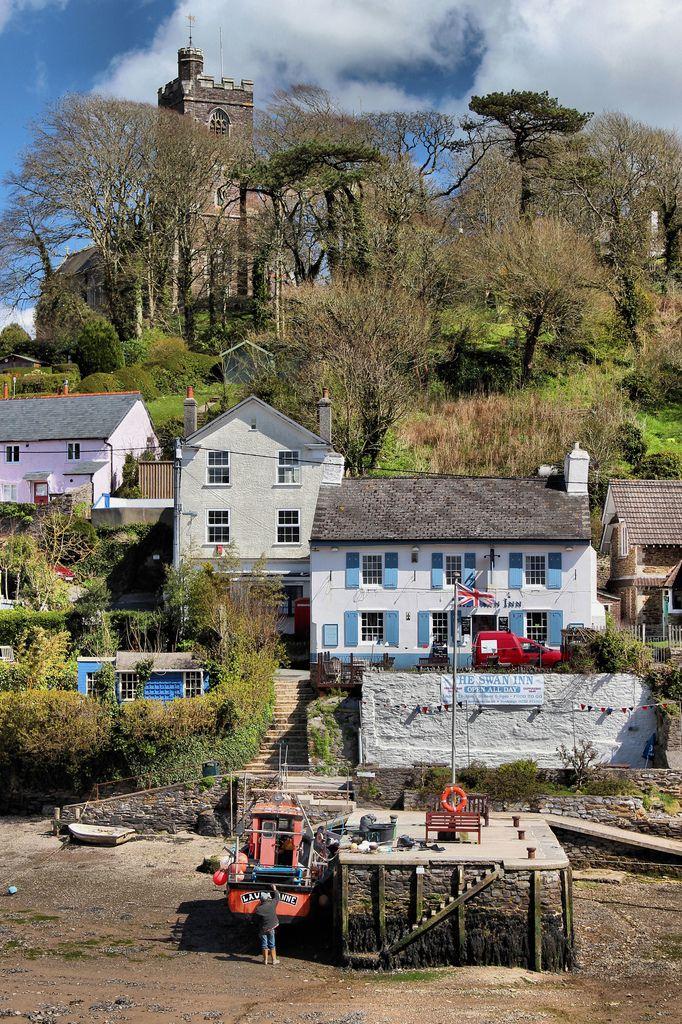 Noss Mayo, Devon by slys