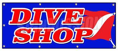 """36""""x96"""" DIVE SHOP BANNER SIGN diving gear scuba rental sale deep sea lessons - http://scuba.megainfohouse.com/36x96-dive-shop-banner-sign-diving-gear-scuba-rental-sale-deep-sea-lessons/"""