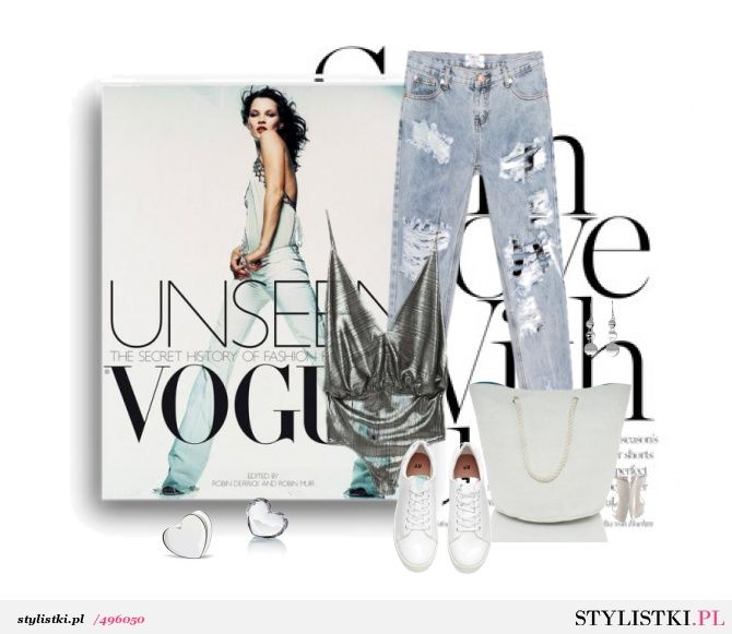 Casual and silver - Stylistki.pl