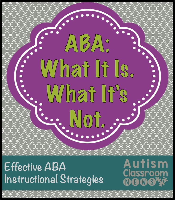 When you review evidence-based practices for individuals with ASD, the category of interventions that has the largest evidence base is applied behavior analysis (ABA). This is because ABA strategies are very effective and also because it's a science built on data and research. ABA has grown in popularity, especially in the field of autism, in …