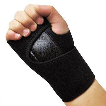 1pc Sports Goods Wrist Support Carpal Tunnel Splint Arthritis Sprains Strain Hand Brace Band (Right Hand)