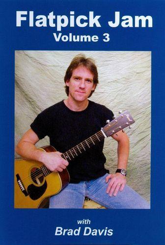 Brad Davis: Flatpick Jam, Vol. 3 [DVD], Adult Unisex