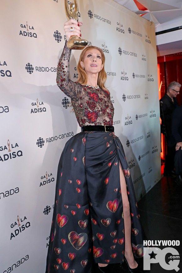 Céline Dion en salle de presse à l'ADISQ: René, «je l'aimais, je l'aime et je l'aimerai toujours» | HollywoodPQ.com