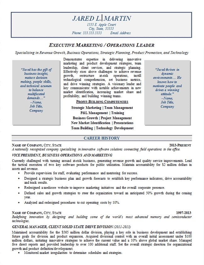 marketing operations resume example resume examplesresume writingwriting help - Help Building A Resume