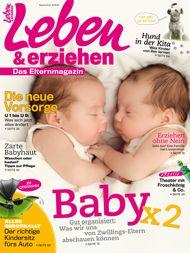 Die neue Leben & erziehen gibt es ab 3. August am Kiosk! #zwillinge #stillen #stillprobleme #babymilch #bauchweh #hautpflege #babyhaut #puppentheater #autokindersitz