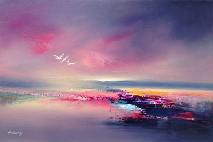 "Saatchi Art Artist Beata Belanszky-Demko; Painting, ""The Three of Us"" #art"