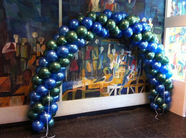 Ballonboog 6m Maarten Luther College Rotterdam Endemol