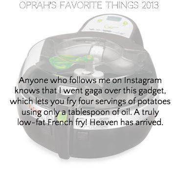 T-fal ActiFry | Oprah's Favorite Things