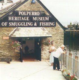 POLPERRO HERITAGE MUSEUM OF SMUGGLING & FISHING: Cornwall.     ✫ღ⊰n