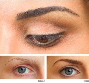 Subtle permanent eyeliner