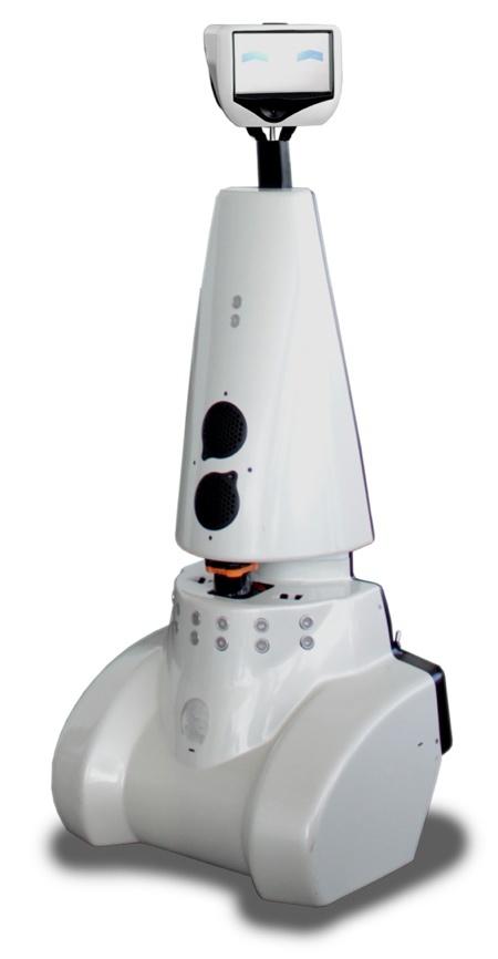 Gostai Jazz telepresence robot (www.gostai.com)
