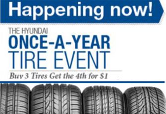 #DidYouKnow our #Hyundai #Service #Department is open Saturdays until 6PM and on Sundays from 8am-1pm. Check out our Coupon, Specials & Schedule Service | Once-A-Year #Tire Event. Ends 10/31/14.