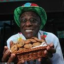 """Wallace """"Wally"""" Amos was the first black talent agent with the William Morris Agency of New York in 1962. He represented major music legends like Diana Ross & the Supremes, Marvin Gaye, Sam Cooke and Simon & Garfunkel. To attract clients, he sent them homemade cookies using a famous family recipe....Wallace """"Wally"""" Amos was the first black talent agent with the William Morris Agency of New York in 1962. He represented major music legends like Diana Ross & the Supremes, Marvin Gaye, Sam Cooke…"""