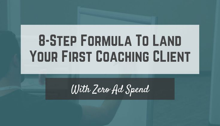 Simple 8-Step Formula to Land Your First Coaching Client - http://www.robbierichards.com/case-study/first-coaching-client?utm_source=bensoltana&utm_medium=social&utm_campaign=zied#utm_sguid=156911,b8e0f5bc-4714-83de-5fd0-d793d2eb48df by @tomhuntio | #GrowthHacking