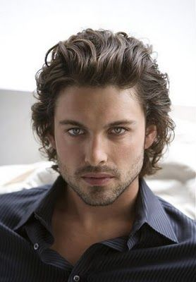 mens hairstyles - Long, texture