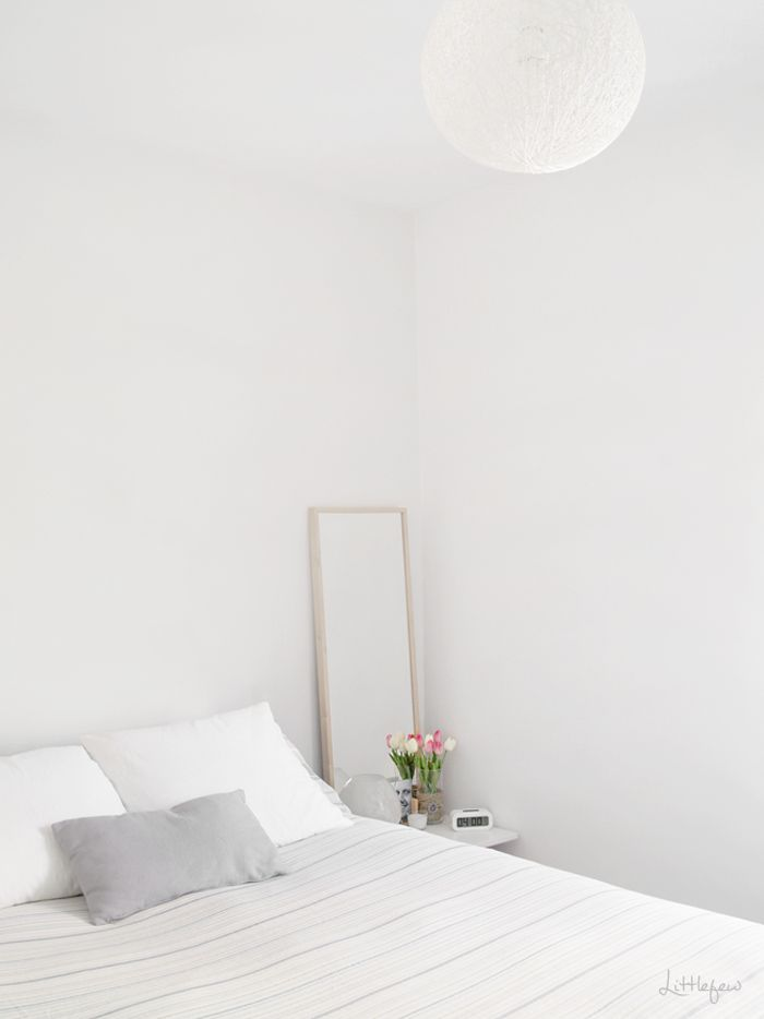 Littlefew, bedroom, scandinavian, Stylizimo, white