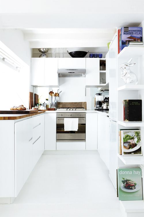 all white kitchen #decor #white