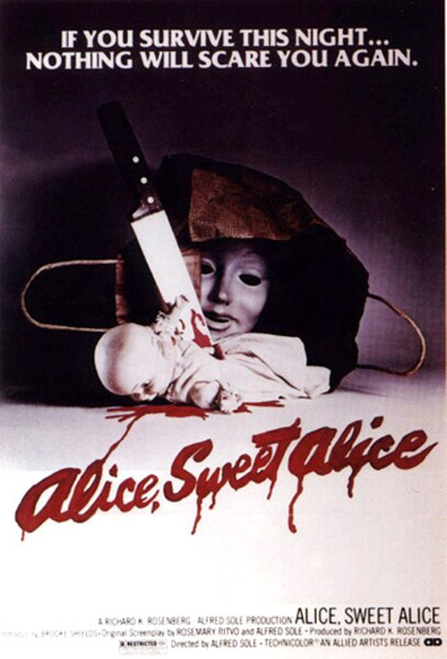 60 Great Horror Movie Posters: Alice, Sweet Alice (1976)