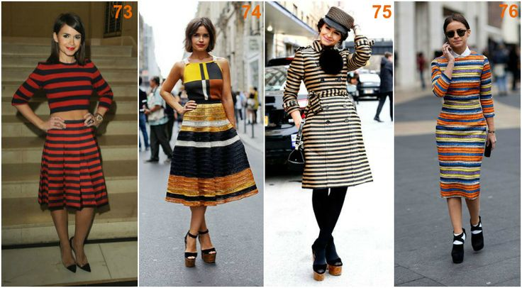 Miroslava Duma stripes
