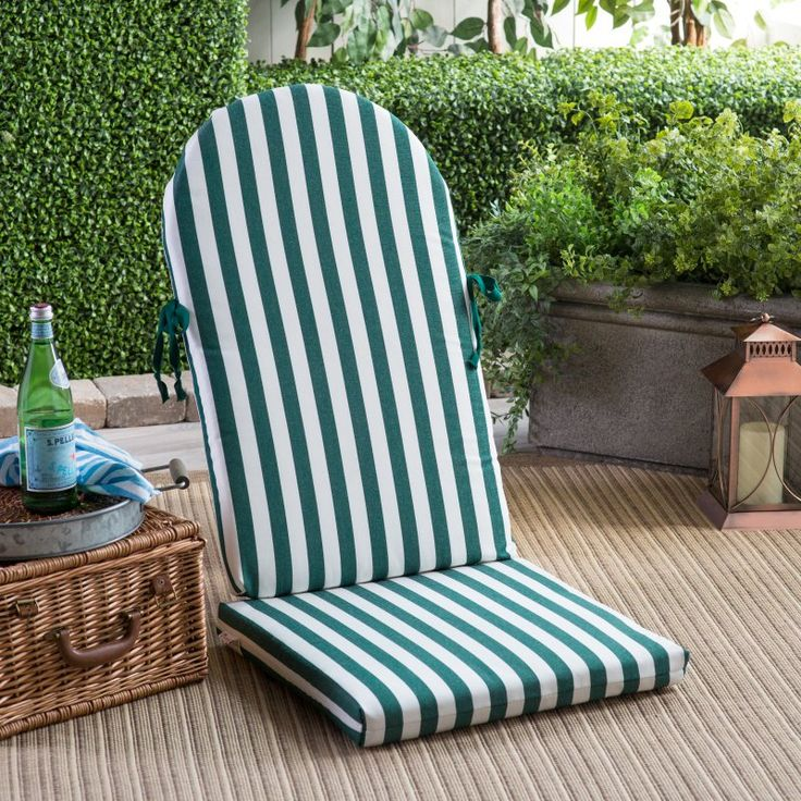 POLYWOOD® Sunbrella 49.5 X 20 In. Adirondack Chair Cushion