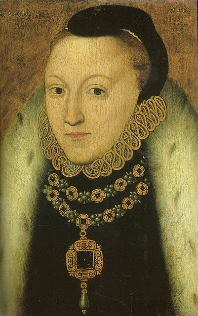 Portrait of Queen Elizabeth I by an unknown artist.Painted in the early years of her reign. Elizabeth,the daughter of Henry VIII and Anne Boleyn,was the last Tudor monarch and succeeded her sister Mary I in November 1558.There does not appear to be a determined portrait of Elizabeth during her sister's reign but this slightly later image reflects well Elizabeth's appearance around the time of her sister's last years.Elizabeth had the longest Tudor reign lasting till her death in March…