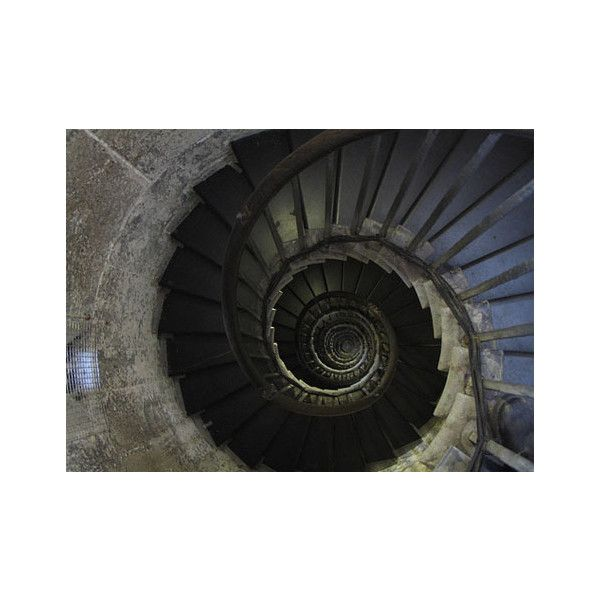 16 Spectacular Spiral Staircases as Seen from Above « Dornob ❤ liked on Polyvore featuring pictures and backgrounds